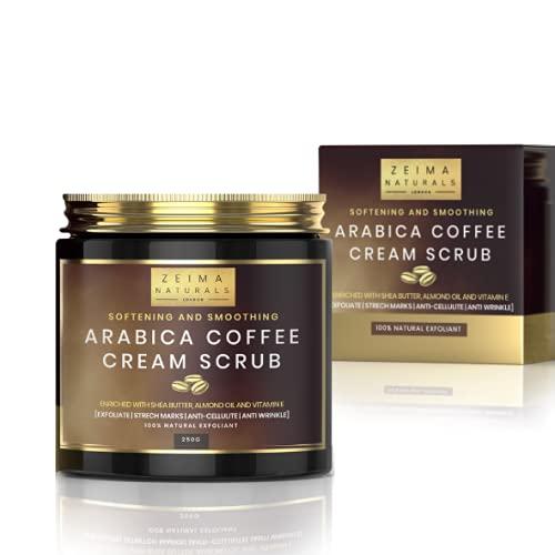 WonderSkin Natural Arabica Coffee Scrub for Face & Body exfoliating...