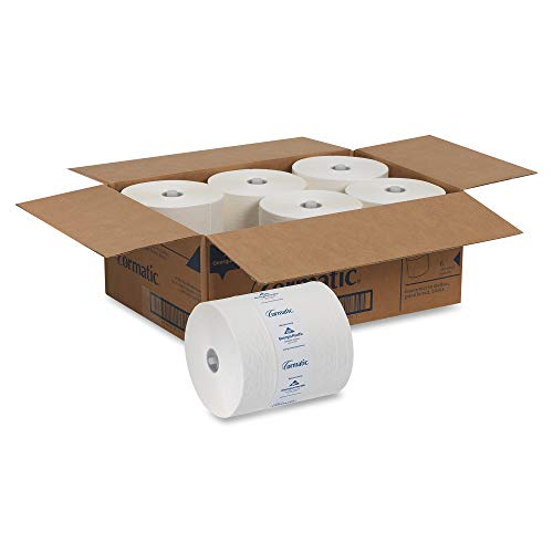 Cormatic Paper Towel Roll by GP PRO (Georgia-Pacific), White, 2930P, 700 Linear Feet Per Roll, 6 Rolls Per Case