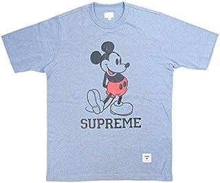 SUPREME シュプリーム ×Disney ディズニー 09AW Mickey Tee Tシャツ 青 XL 並行輸入品