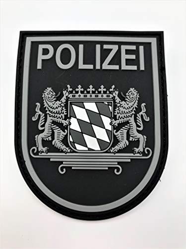 Polizei Bayern Black Ops Rubberpatch mit Klett