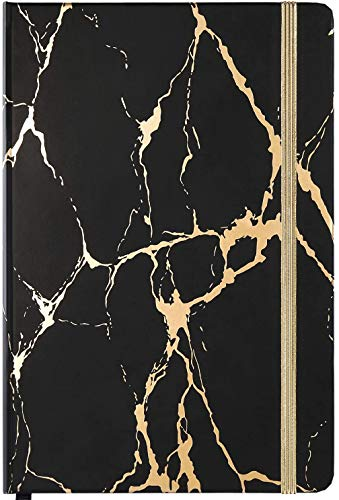 Ruled Notebook/Journal - Classic Hardcover Notebook/Journal with Premium Thick Paper, 5.7'×8.4', Perfect for Office Home School Business Writing & Note Taking