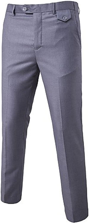 YYNANKU TT&Men's Pants Herrn Sexy Gerade Gerade Gerade Geschft Hose - Formaler Stil, Solide, XXXL B07BMY79LW  Charakteristisch 2c8f81