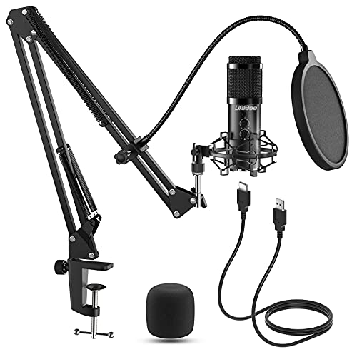 Lifebee USB Mikrofon PC, Mikrofon Kondensator Microphone Stu