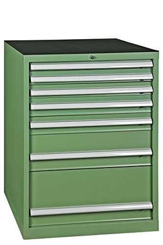 Werkzeugschrank, Schubladenschrank 7 Schubladen, grün