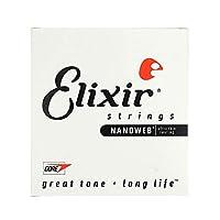ELIXIR 15254/054 バラ弦×4本 エリクサー ナノウェブ ギター弦