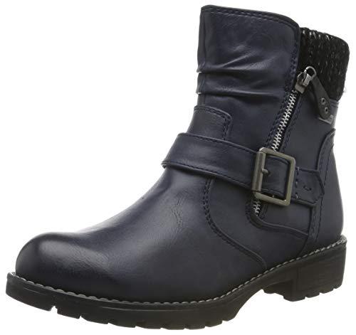 Jana 100% comfort Damen 8-8-26420-23 Stiefeletten, Blau (Navy 805), 40 EU