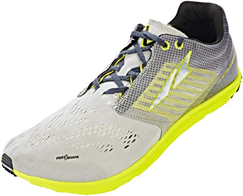 Altra Men's ALU1812F Vanish-R Road Running Shoe, Gray/Lime - 9.5 M US