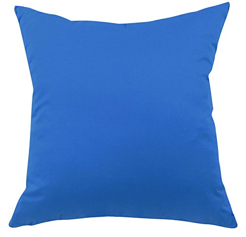 ChezMax Square/Rectangle Candy Color Twill Printed Cushion Cover Cotton Throw Pillow Case Sham Slipover Pillowslip Pillowcase for Home Sofa Couch Chair Back Seat