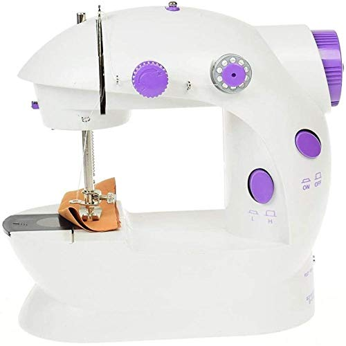 Portable Mini Sewing Machine Best Sewing Machine for Beginners Portable Electric Crafting Mending Machine Kids Gift DIY Childrens Ideal Gift