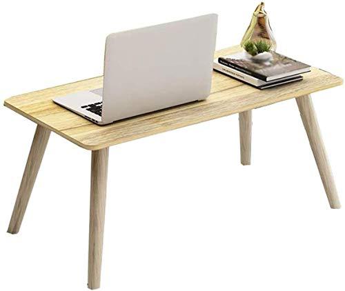 Coffee Table Muebles de sala de estar Pequeña mesa de ordenador Lazy Desk Home Desk Simple Mesa Pequeña Plegable Mini (Color: C, Tamaño: 40 cm)