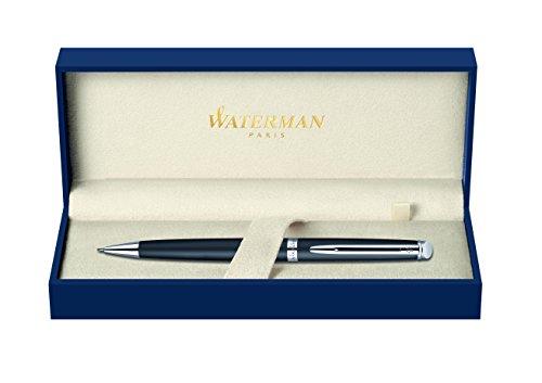 Waterman Hémisphère Druckbleistift   0,5mm   Mattschwarz mit Chromzierteile   Geschenkbox