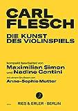 Die Kunst des Violinspiels: kompakt bearbeitet von Maximilian Simon und Nadine Contini