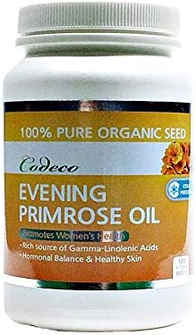 Codeco Free shipping depot Evening Primrose Oil 500mg GLA 180Softgels Omega-6