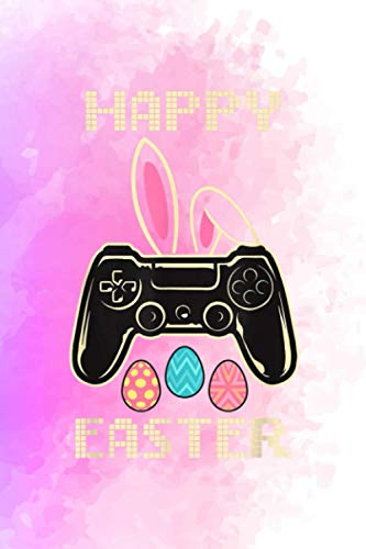 Video Game Easter Bunny Gaming Controller Gamer Boys - Account Information Notebook: Softball Graphic Saying for Teen Girls and Women