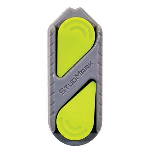 Calculated Industries 7310 StudMark Magnetic Stud Finder with 2 Removable Magnet Markers | Finds & Marks up to 3 Stud Locations | UPDATED 2020 More Powerful Rare Earth Magnets, No Batteries Needed