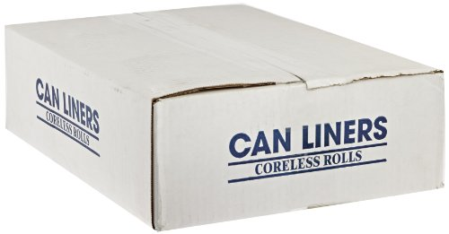 Spectrum CAMZ243308N CP243308N HDPE Institutional Trash Can Liner, 12-16 Gallon Capacity, 33