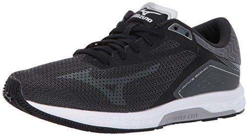 Mizuno Women's Wave Sonic Running-Shoes, Black/Iron...
