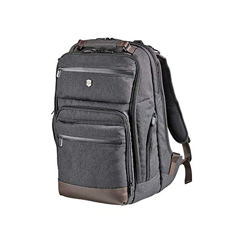 Victorinox Architecture Urban Rath Laptop Backpack, Grey/Brown, One Size