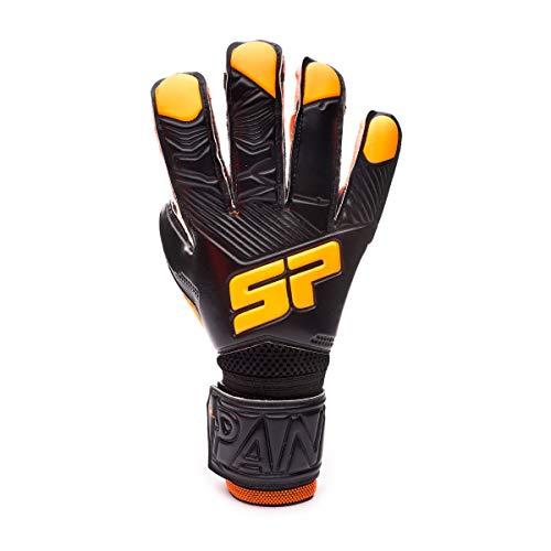 SP Fútbol Pantera Fobos Training, Guante de Portero, Black-Orange, Talla 8