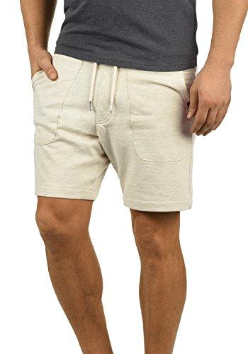 Blend Mulker Herren Sweatshorts Kurze Hose Jogginghose Mit Kordel Regular Fit, Größe:L, Farbe:Sand Mix (70810)