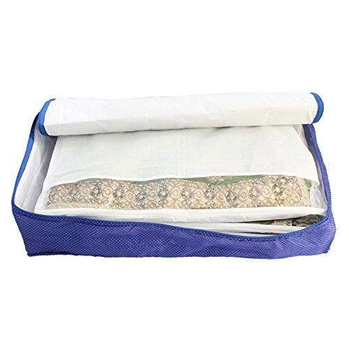 Con purpurina Collection (TM) 12Sarees bolsa, Cubierta de tela,, 1bolsa para guardar...