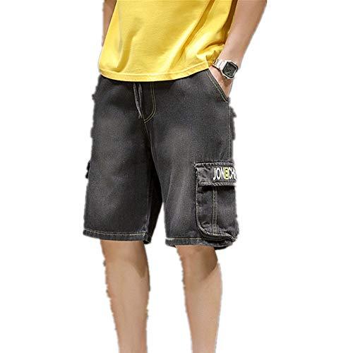 Preisvergleich Produktbild NOBRAND Sommer New Shorts Herren Freizeit Arbeitskleidung 5-Punkt Jeans Shorts Gr. XXL,  B
