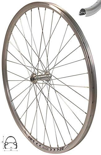 Redondo 28 Zoll Vorderrad Laufrad Fahrrad V Profil Felge Silber