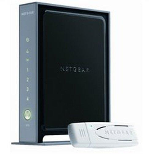 NETGEAR WNB2100-100GRS Wireless-N Router Kit (WNR2000 Router + WN111 USB-Adapter)