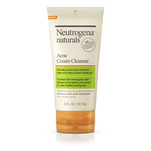 Neutrogena Naturals Acne Cream Cleanser, 5 Oz