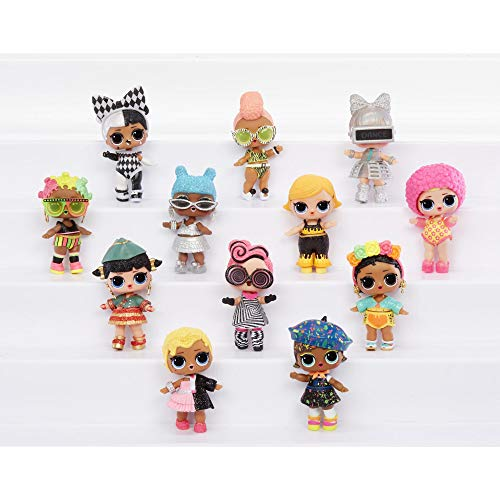 MGA Entertainment LOL Surprise! Lights Glitter Doll with 8 Surprises Including Black Light Surprises