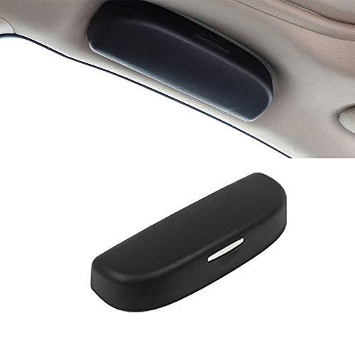 Estuche para Gafas de Sol para automóvil Soporte Universal para Gafas de Coche para A1 A3 A4 B9 A5 A6 A7 A8 Q3 Q7 Q5 2019 (Negro)