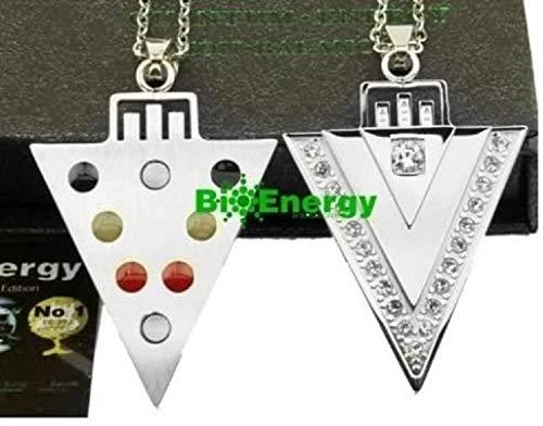 BioEnergy International Leistungsstarke Quantum Scalar-Energie-Anhänger Bio Halskette Gleichgewicht Powe 144