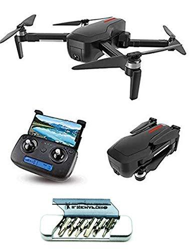 v-storm Drone con Telecamera in 4K-GPS 5G-WiFi FPV- Motori BRUSHLESS Modello X7 Black-QUADRICOTTERO+Multitool Il SEMAFORO