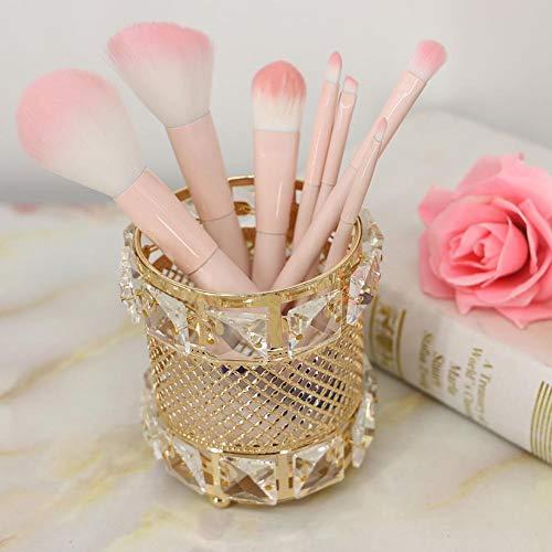Funihut Make-upkwast, make-upkwast, borstel, organizer voor het bewaren van emmer, potlood voor wenkbrauwen, pen, kopje, gereedschap, containers