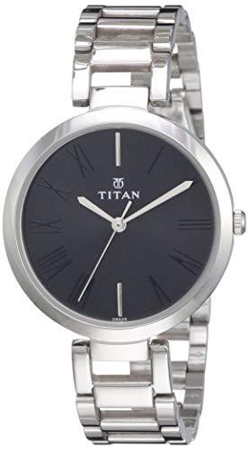 Titan Youth Analog Black Dial Women's Watch