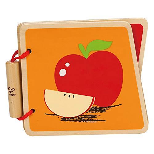 Hape International E0039 Livre de Fruits pour bébé Multicolore