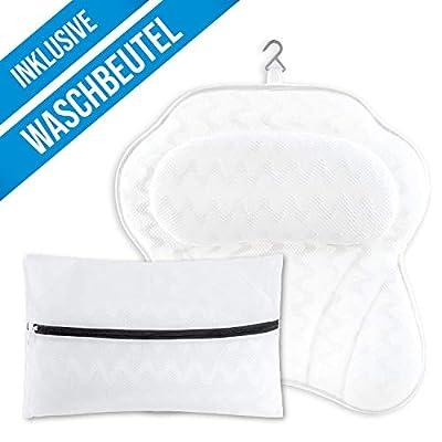 COMFORTIFY® Badewannenkissen inkl. Waschbeutel