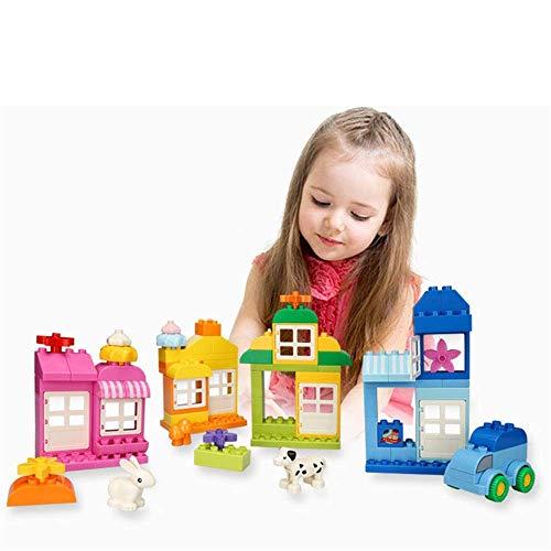 LAMZH Kinder Bausteine Spielzeug...