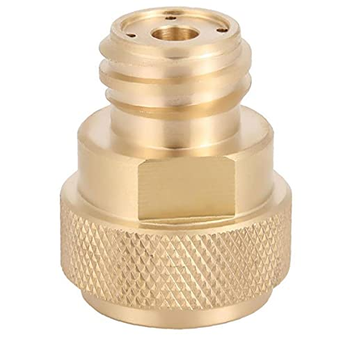 Tank-Kanister-Umwandlung Messing Refill-Adapter C02 ersetzen Tank Paintball Umwandlungs-Adapter Ersatz für Sodastream mit Schlüsseln Gold