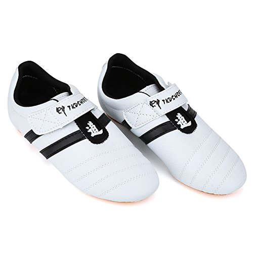Zapatillas de Taekwondo, Artes Marciales Zapatillas de Entrenamiento Zapatillas de Boxeo Karate Kung Fu Tai Chi Zapatillas de Deporte reemplazo para Hombres Mujeres Niño
