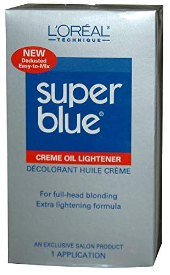 単独で創造退化するL'Oreal Technique - Super Blue - Creme Oil Lightener KIT
