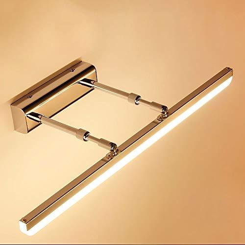 Leohome Moderne LED-wandlampen, binnenbadkamer, 90 cm, 70 cm, 60 cm, 50 cm, 40 cm, lange LED-bevestigingen voor fotolijsten, 220 V, L70 cm 16 W, koel wit (5500-7000 K)