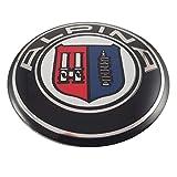 LUDOSTREET ref0004 Logo Emblema Insignia Anagrama Llanta Rueda Auto Coche Compatible con 68mm 10 Pins (Alpina)