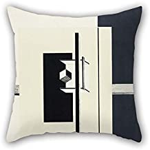 Biekxrso Oil Painting El Lissitzky - 1o Kestnermappe Proun (Proun. 1st Kestner Portfolio) Throw Pillow Covers 20 X 20 Inches/Gift Or Decor for Kids Girls Coffee House Seat Couch Adults Club -
