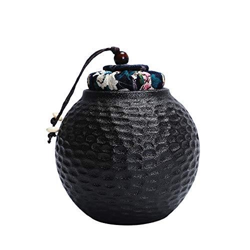 HUIJU Feuerbestattungsurnen Wunderschöne Keramik-kleine Mini-Aufbewahrungsurne für menschliche Asche - Bestattungsurnen-Set