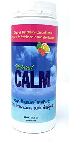 NATURAL CALM Magnesium Citrate Powder Raspberry-Lemon 226 gram