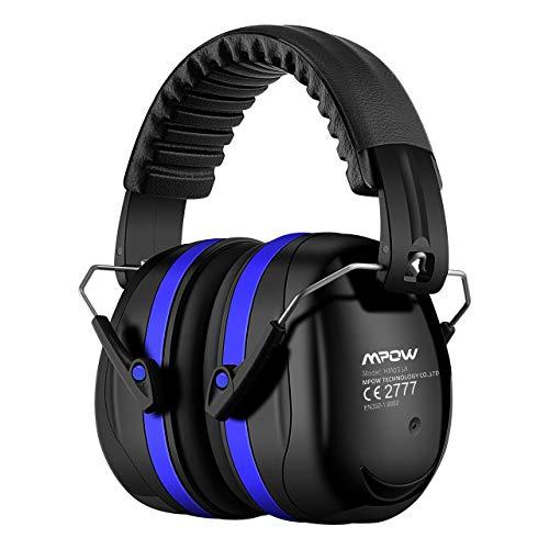 Mpow Ear Defenders Orejeras, azul, Talla única Unisex Adulto