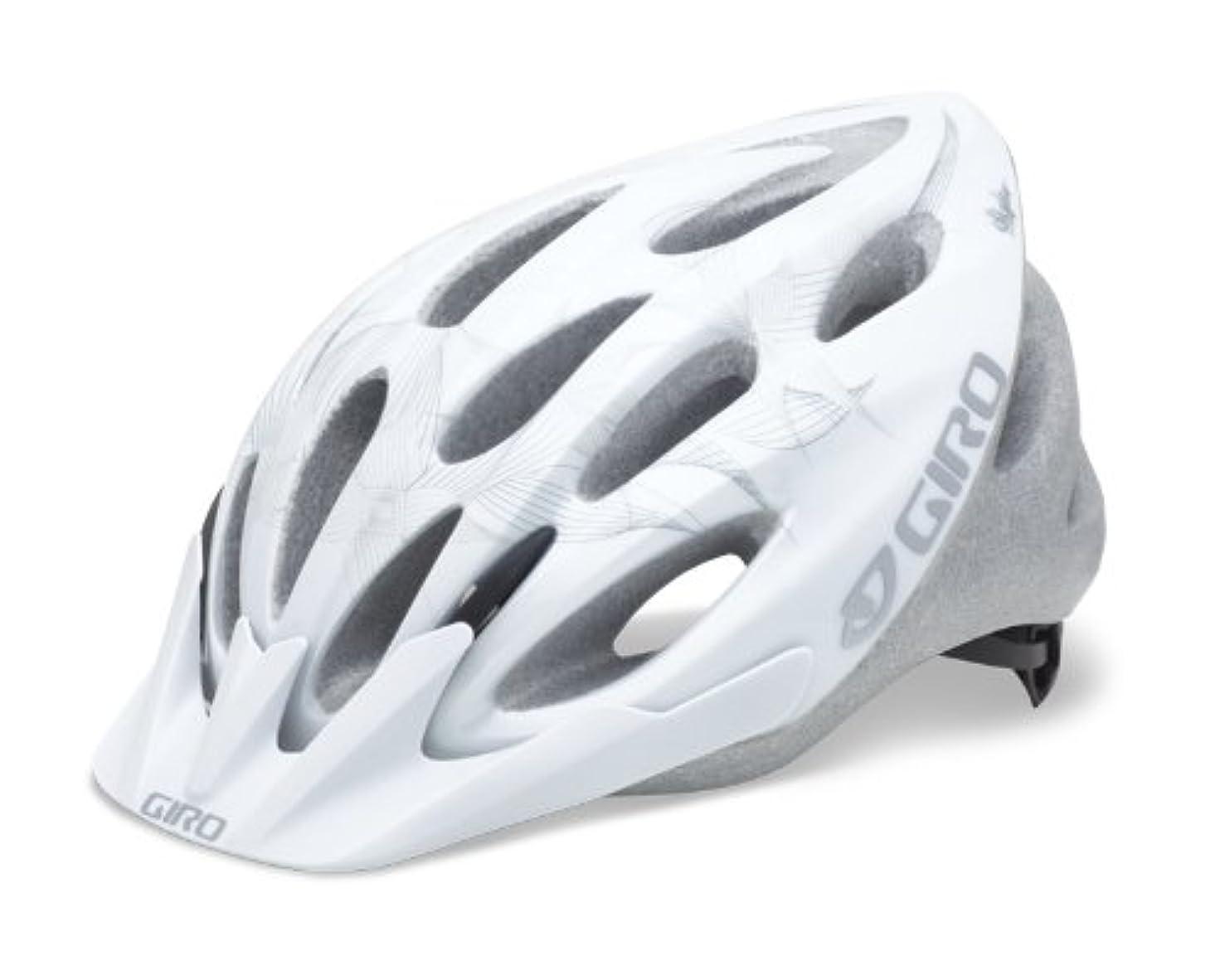 Giro Women's Skyla Bike Helmet (White Tech Flowers, Universal Fit)