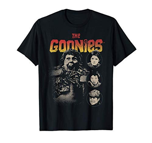 Official The Goonies Cast Poster T-Shirt for Male, Female, S to 3XL
