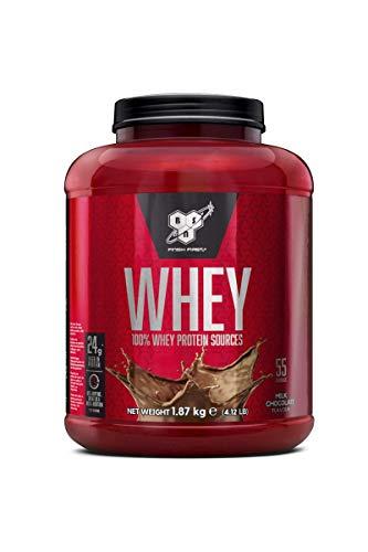 BSN DNA Whey Eiweißpulver (24g Eiweiß pro Portion, Protein Shake von BSN) milk chocolate, 55 Portionen, 1,87kg